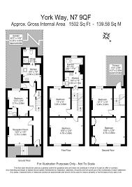 4 bedroom terraced house for sale in york way london n7