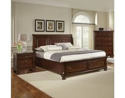reflections bedroom set reflections king storage sleigh bedroom set dark cherry by