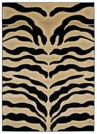 Black And White Zebra Area Rug Furniture High End Looks For Less