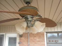 ceiling fan outdoor blades broken blades