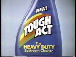 Heavy Duty Bathroom Cleaner Tought Act Bathroom Cleaner Commercial From 1984 With Antimated