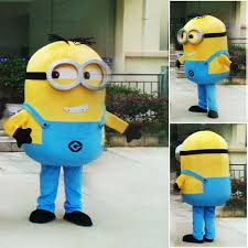 Despicable Minion Costume Despicable Minions Mascot Costume Custom Fancy Costume Anime