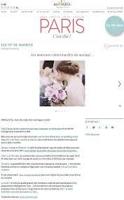 exemple liste de mariage la presse
