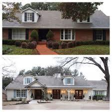 painting exterior brick home home interior decor ideas