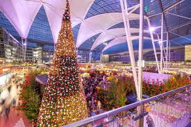 munich airport s and winter market is now open