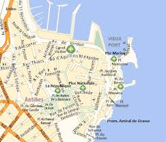 map of antibes visit and stay in antibes for your holidays