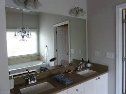 Brushed Nickel Mirror Bathroom by Diy Bathroom Mirror Frame Ideas Wall Brushed Nickel Sconces Marble
