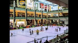 dubai ice rink skating youtube