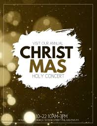 brown christmas poster christmas template postermywall