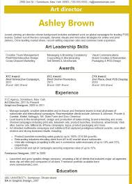 Award Winning Resume Templates Director Resume Exles 2016