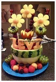 edible fruit arrangements chicago mouthwatering fruit flower arrangement flower