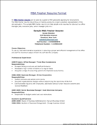 best resume format for senior manager job professional resume format for freshers free sles exles