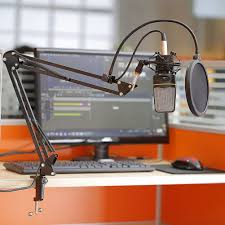Computer Desk Microphone How To Set Up A Studio For 150 Pc Gamer
