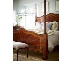 uk queen four poster mahogany bed