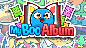 my boo album sticker book for iphone and android