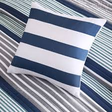 Blue Quilted Coverlet Paul Blue Quilted Coverlet Set By Intelligent Design Free Shipping