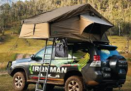 Ironman Awning Ironman 4 4 Introduce New Roof Tent Bag To Keep Your Stuff Off The