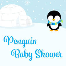 penguin baby shower boy baby shower themes celebrate crafts