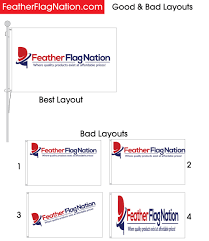 Custom Swooper Flags How To Design A 3x5 Custom Flag With Your Logo Feather Flag Nation