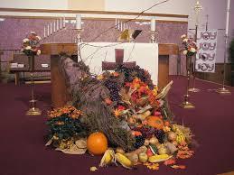 thanksgiving church decorations altar ideas