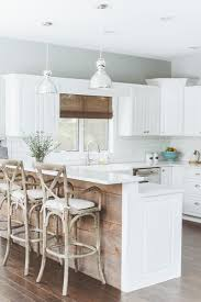 white kitchen wood island kitchen white kitchen with reclaimed wood island also metal