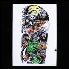 Gift Halloween by Online Get Cheap Tattoo Body Art Sticker Gift Aliexpress Com