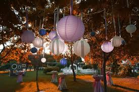 garden party ideas at night trellischicago