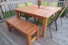 Diy Wood Patio Table by Ana White Cedar Patio Table Diy Projects