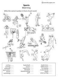physical education worksheet worksheets