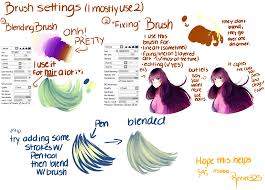 paint tool sai brushes favourites by daschocolate on deviantart