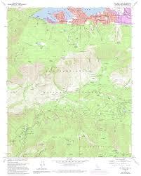 Joshua Tree California Map Topographic Maps Of San Bernardino County California