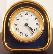 cartier clock ebay