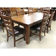 rustic dining table w chairs upscale consignment rustic dining table wchairs 68918e jpg view detailed images 5