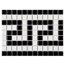 breton key 0 81 x 81 porcelain mosaic floor and wall tile