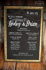 wedding program chalkboard best 25 wedding program board ideas on wedding