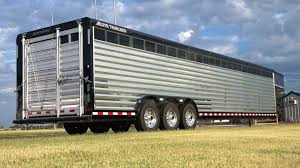 cattle trailer lighted sign stock trailers elite trailers