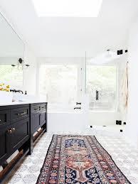 tapis cuisine original cool idées pour le tapis de salle de bain original archzine fr