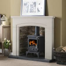 penman new haven 48 inch fireplace surround in portuguese limestone