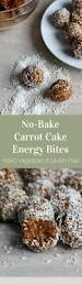 no bake carrot cake energy bites stephanie kay nutrition