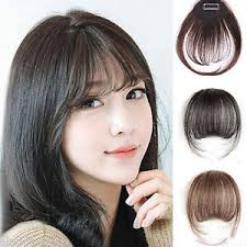 clip in bangs new real hair extension clip in front hair bangs fringe