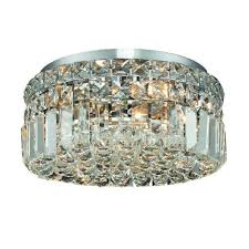 Crystal Flush Mount Lighting Elegant Lighting Flush Mount Ceiling Lighting Goinglighting
