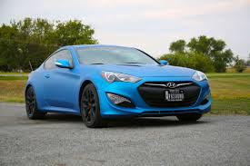 hyundai genesis hyundai genesis coupe matte metallic blue color change wrap car