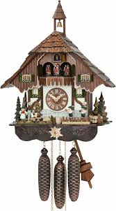 Chalet Style by Cuckoo Clock 8 Day Movement Chalet Style 48cm By Hubert Herr 70