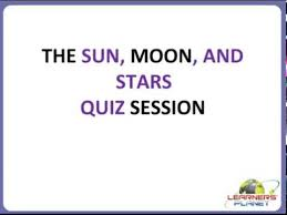 class 3 evs the sun moon and the stars qs free science worksheets