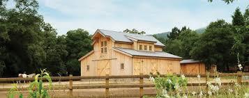 wood u0026 horse barn homes garages loft living sand creek post u0026 beam
