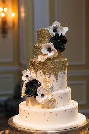 and black wedding regal washington dc hotel wedding black wedding cakes metallic