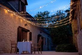 Canopy String Lights by Garden Lighting Ideas Inspiration Lights4fun Co Uk