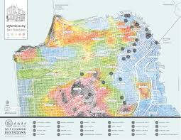 Map Of Union Square San Francisco by Effortless City Neighborhood Sidewalk Maps