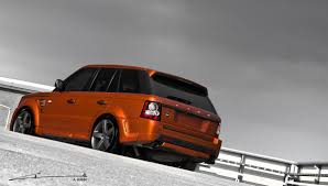 orange range rover svr 2012 kahn vesuvius orange range rover