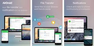 android remote access airdroid android app for remote access and file transfer tip zoom